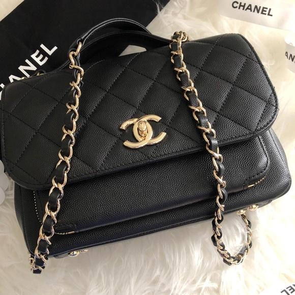 f96143af59b8 CHANEL Bags | Bnib Med Business Affinity Black Caviar Ghw | Poshmark